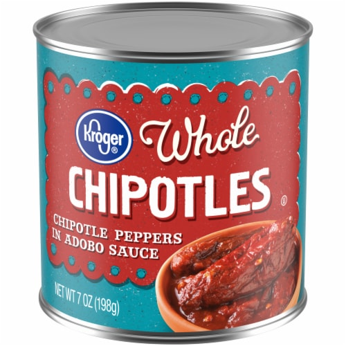 Kroger® Gluten Free Whole Chipotle Peppers in Adobo Sauce Perspective: front