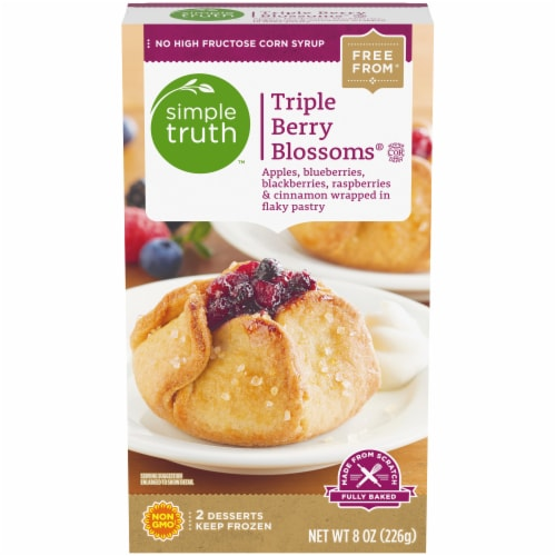 Simple Truth™ Triple Berry Blossoms Dessert Perspective: front