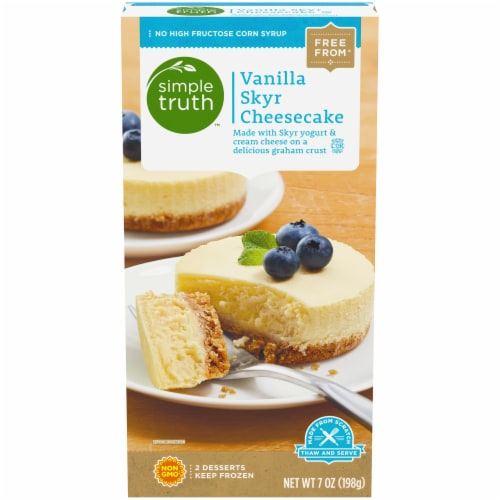 Simple Truth™ Vanilla Skyr Cheesecake Perspective: front