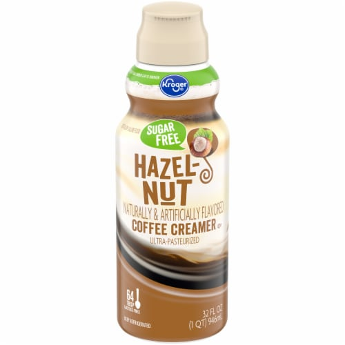 Kroger® Sugar Free Hazelnut Coffee Creamer Perspective: front