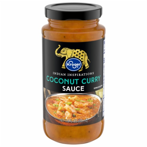Kroger® Coconut Curry Sauce Perspective: front