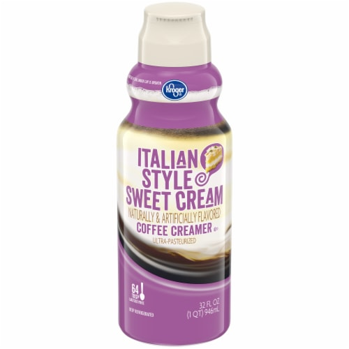 Kroger® Italian Style Sweet Cream Coffee Creamer Perspective: front