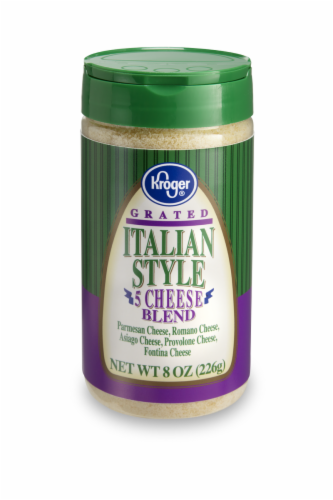 Kroger®  Grated Italian Style 5 Cheese Blend Perspective: front
