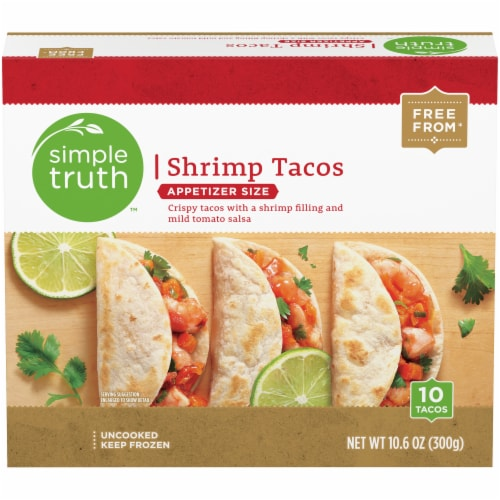 Simple Truth™ Appetizer Size Shrimp Tacos Perspective: front