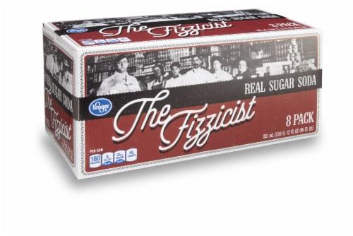 Kroger® The Fizzicist Real Sugar Soda Perspective: front
