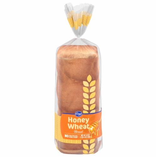 Kroger® Honey Wheat Bread Perspective: front