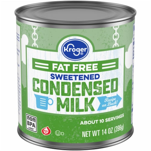 Kroger® Fat Free Sweetened Condensed Milk Perspective: front