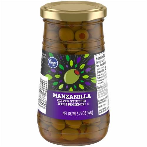 Kroger® Stuffed Manzanilla Olives Perspective: front