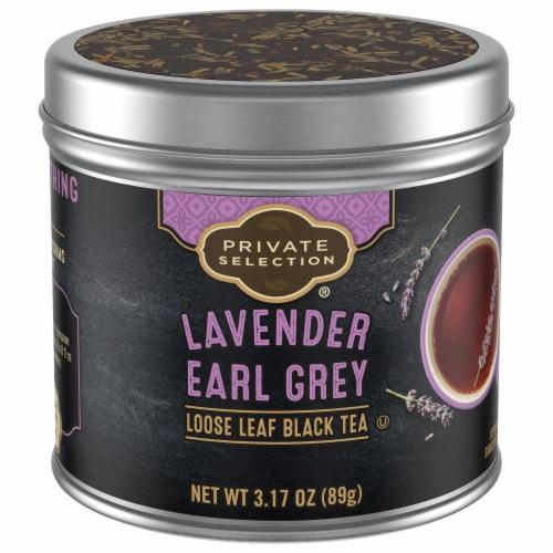 Private Selection® Lavender Earl Grey Black Loose Leaf Tea Perspective: front