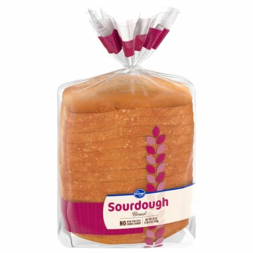 Kroger® Sliced Sourdough Bread Perspective: front