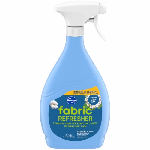 Kroger® Fresh Linen Fabric Refresher Spray Perspective: front