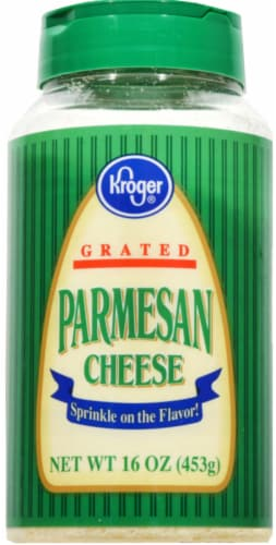 Kroger®  Grated Parmesan Cheese Perspective: front