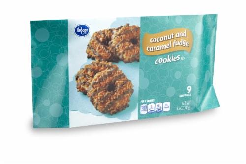 Kroger® Coconut & Caramel Fudge Cookies Perspective: front