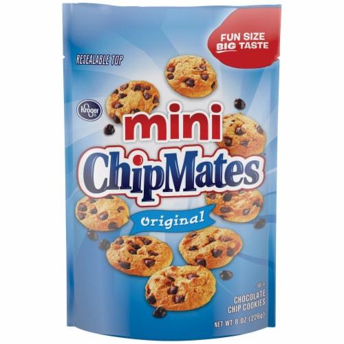 Kroger® ChipMates Mini Original Chocolate Chip Cookies Perspective: front