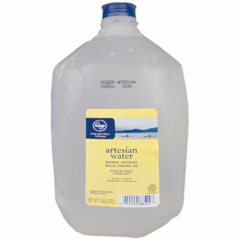 Kroger® Natural Artisan Water Perspective: front
