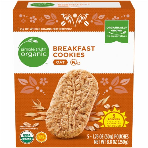 Simple Truth Organic™ Oat Breakfast Cookies Perspective: front