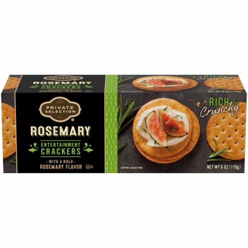 Private Selection® Rosemary Entertainment Crackers Perspective: front