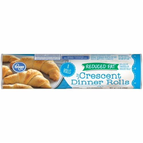 Kroger® Reduced Fat Crescent Dinner Rolls Perspective: front