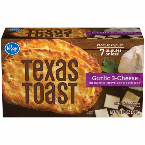 Kroger® Garlic 3-Cheese Texas Toast Perspective: front