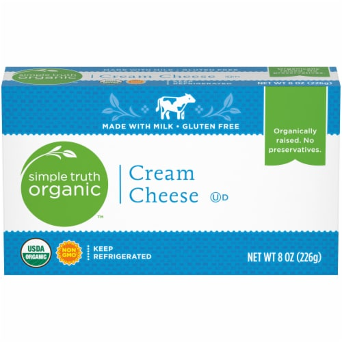 Simple Truth Organic™ Cream Cheese Perspective: front