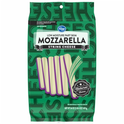 Kroger® Mozzarella String Cheese Perspective: front