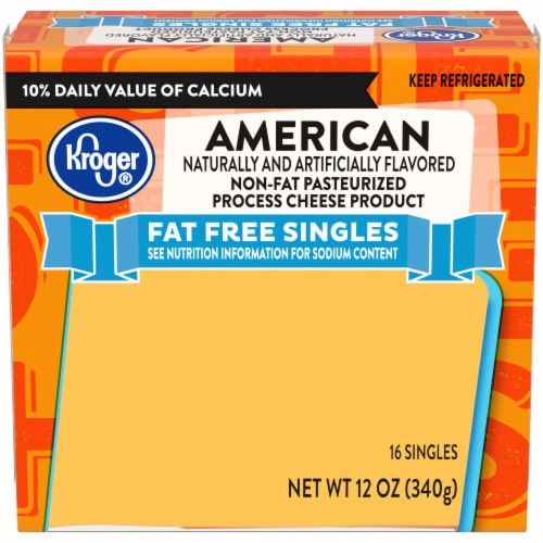 Kroger® Fat Free American Singles Perspective: front