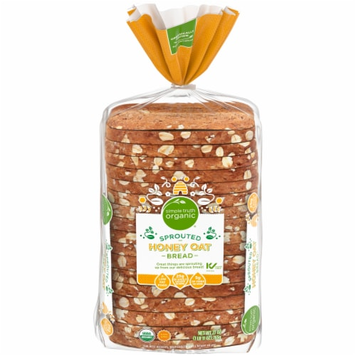 Simple Truth Organic™ Sprouted Honey Oat Bread Perspective: front