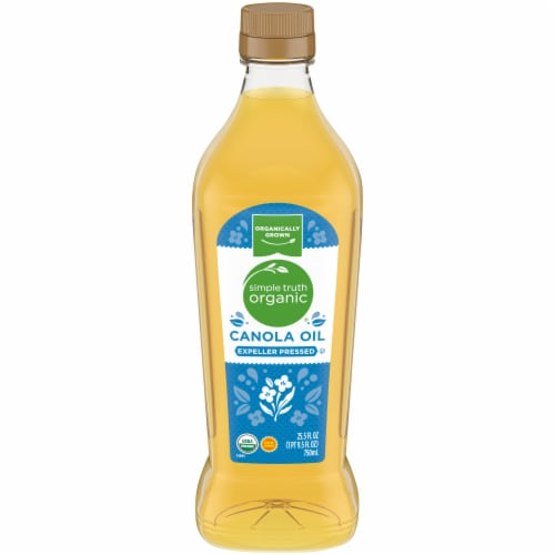 Simple Truth Organic® Gluten Free Expeller Pressed Canola Oil Perspective: front