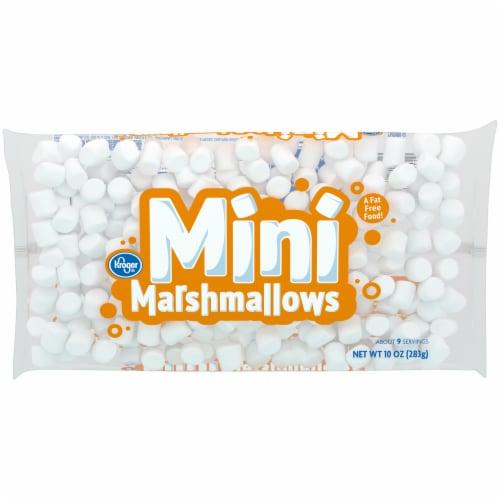 Kroger Mini Marshmallows Perspective: front