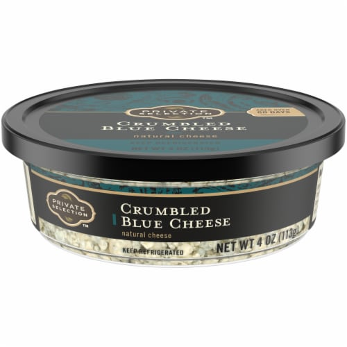 Private Selection™ Crumbled Blue Cheese Perspective: front