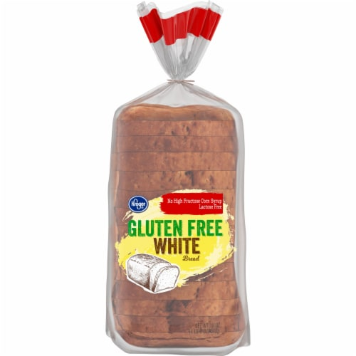 Kroger® Gluten Free White Bread Perspective: front