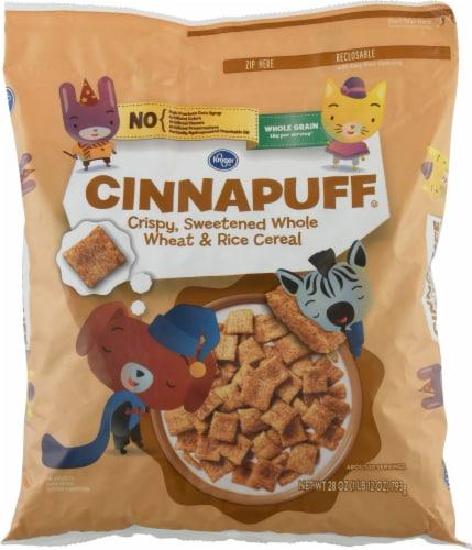 Kroger® Cinnapuff Cereal Perspective: front
