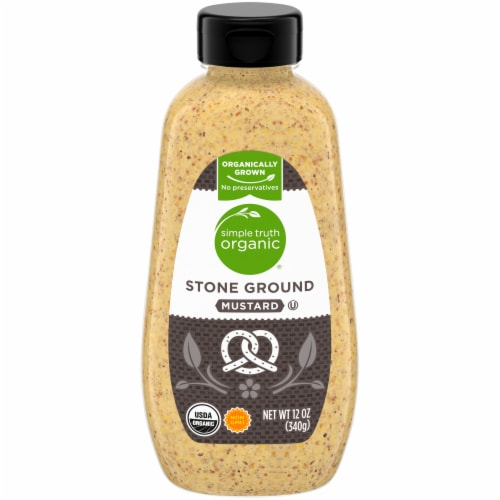 Simple Truth Organic™ Stone Ground Mustard Perspective: front