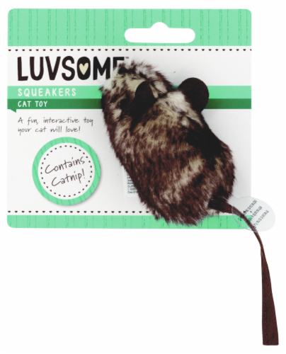 Luvsome™ Squeakers Cat Toy Perspective: front
