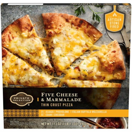 Private Selection™ Five Cheese & Marmalade Thin Crust Pizza Perspective: front
