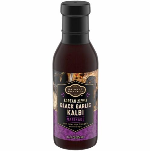 Private Selection® Korean Black Garlic Kalbi Marinade Perspective: front