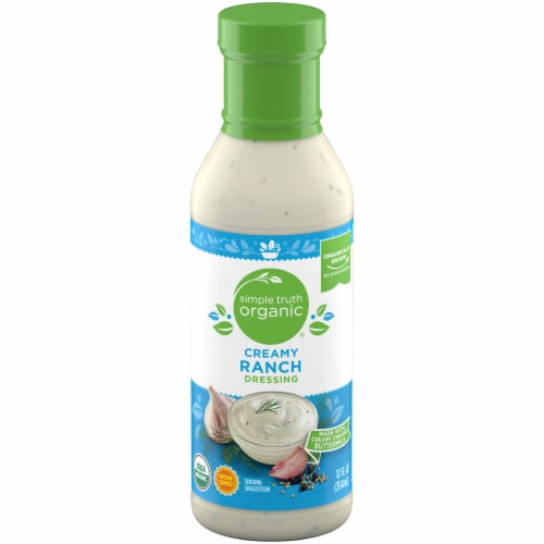 Simple Truth Organic® Creamy Ranch Dressing Perspective: front