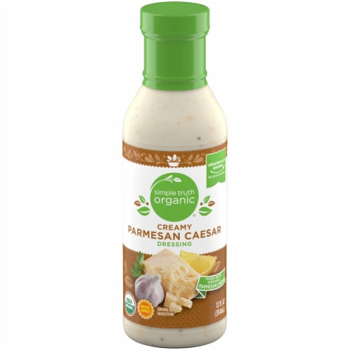 Simple Truth Organic™ Creamy Parmesan Caesar Dressing Perspective: front