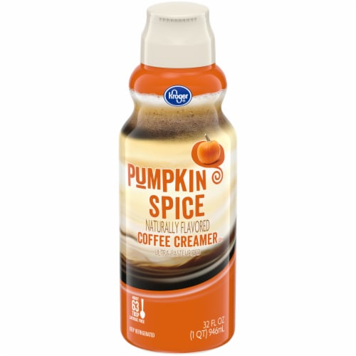 Kroger® Pumpkin Spice Coffee Creamer Perspective: front
