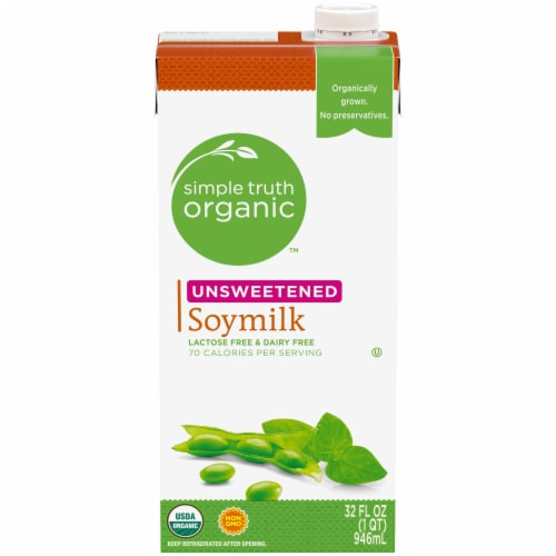 Simple Truth Organic™ Unsweetened Soymilk Perspective: front