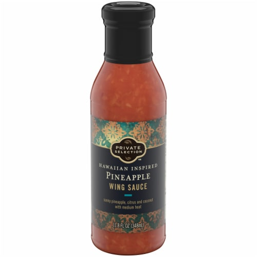 Private Selection™ Hawaiian Pineapple Wing Sauce Perspective: front