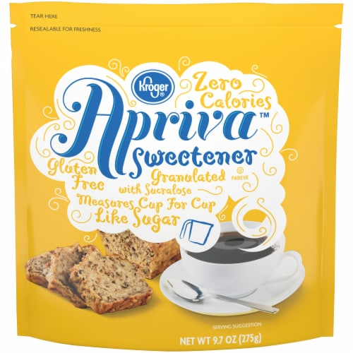 Kroger® Apriva Granulated Zero Calorie Gluten Free Sweetener Perspective: front