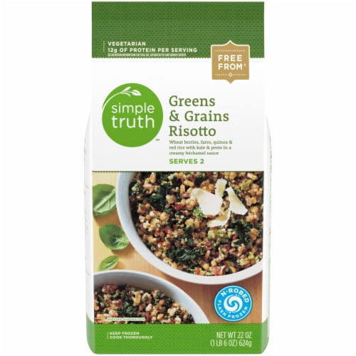 Simple Truth™ Greens & Grains Risotto Perspective: front