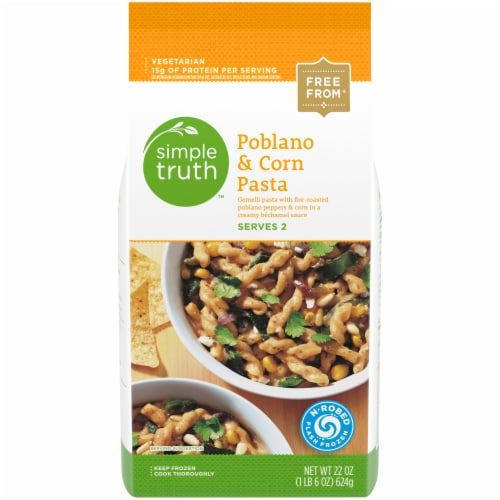 Simple Truth™ Poblano & Corn Pasta Perspective: front