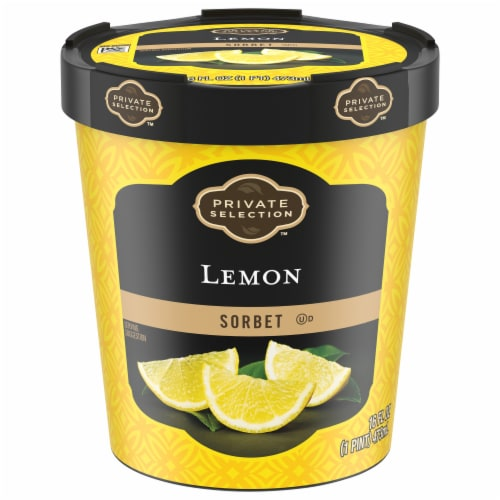 Private Selection™ Lemon Sorbet Perspective: front