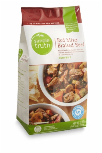 Simple Truth™ Red Miso Braised Beef Perspective: front