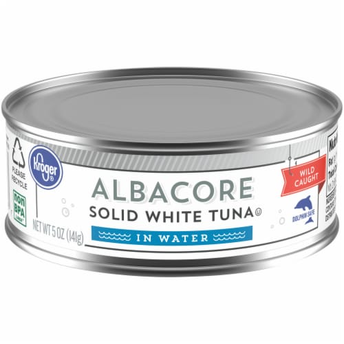 Kroger® Solid White Albacore Tuna in Water Perspective: front