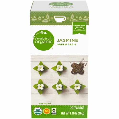 Simple Truth Organic™ Jasmine Green Tea Bags Perspective: front