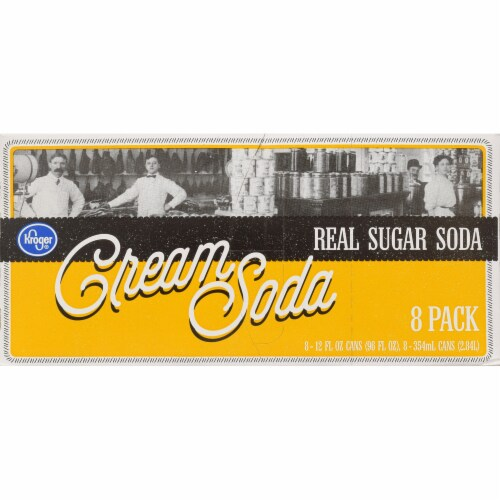 Kroger® Real Sugar Cream Soda Perspective: front