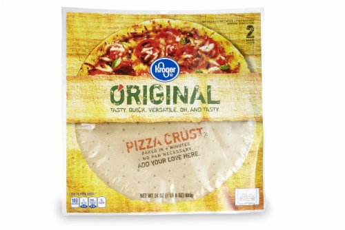 Kroger® Pizza Crusts Perspective: front